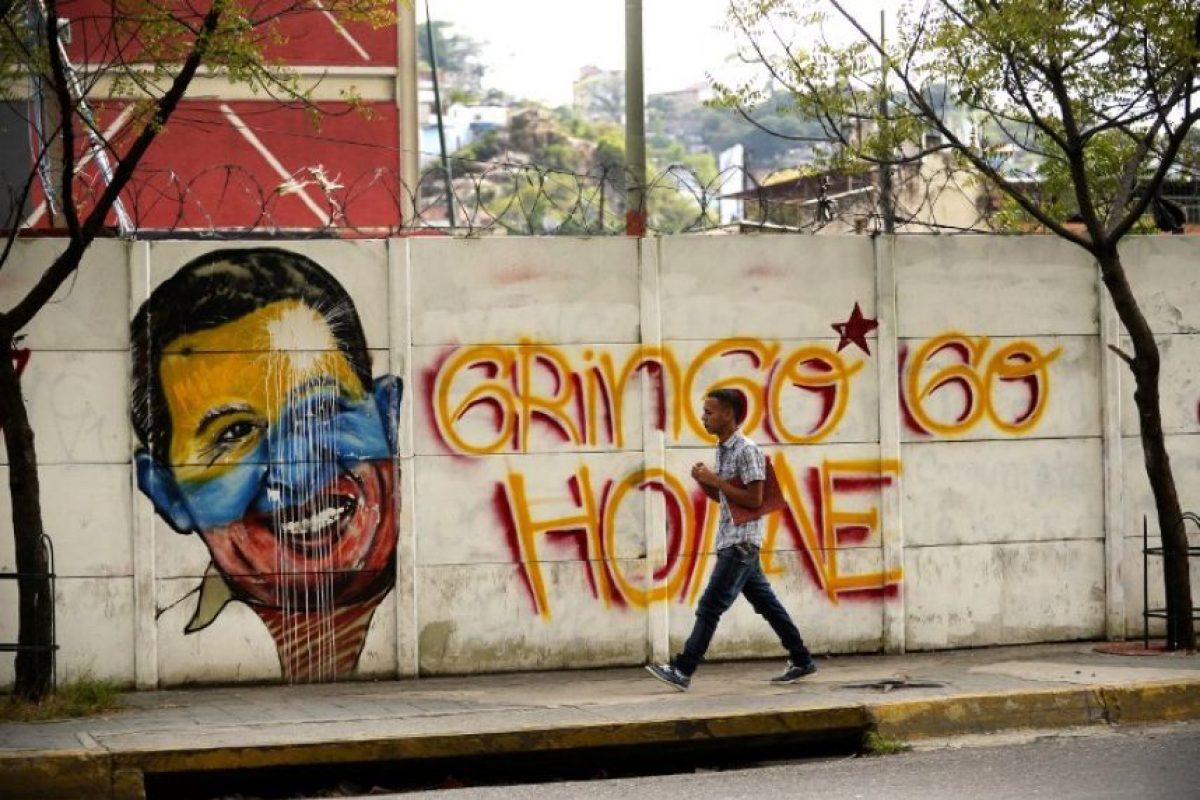 """En septiembre, el secretario de la administración Obama, John Kerry, llamó a la canciller venezolana Delcy Rodríguez con el fin de """"regularizar las relaciones diplomáticas"""" Foto: AFP. Imagen Por:"""