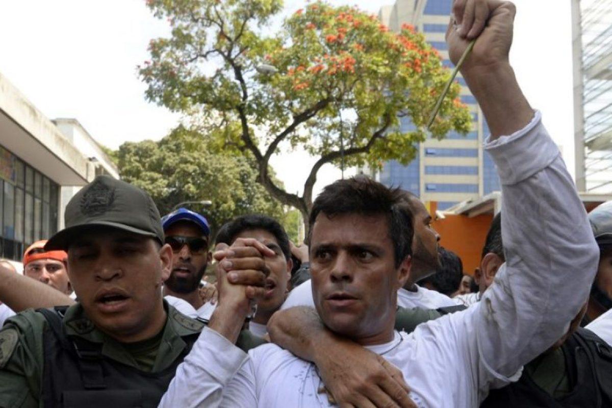 2. Detención de Antonio Ledezma y sentencia a Leopoldo López, ambos opositores Foto:AFP. Imagen Por:
