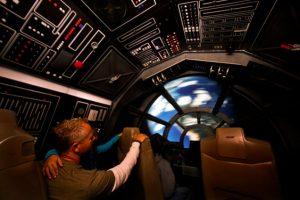 Interior del Halcón Milenario. Foto:Archivo Getty. Imagen Por: