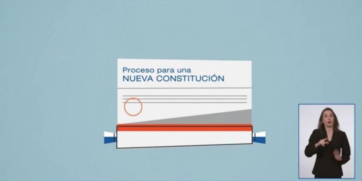 Con un video Gobierno inició campaña informativa sobre Proceso Constituyente