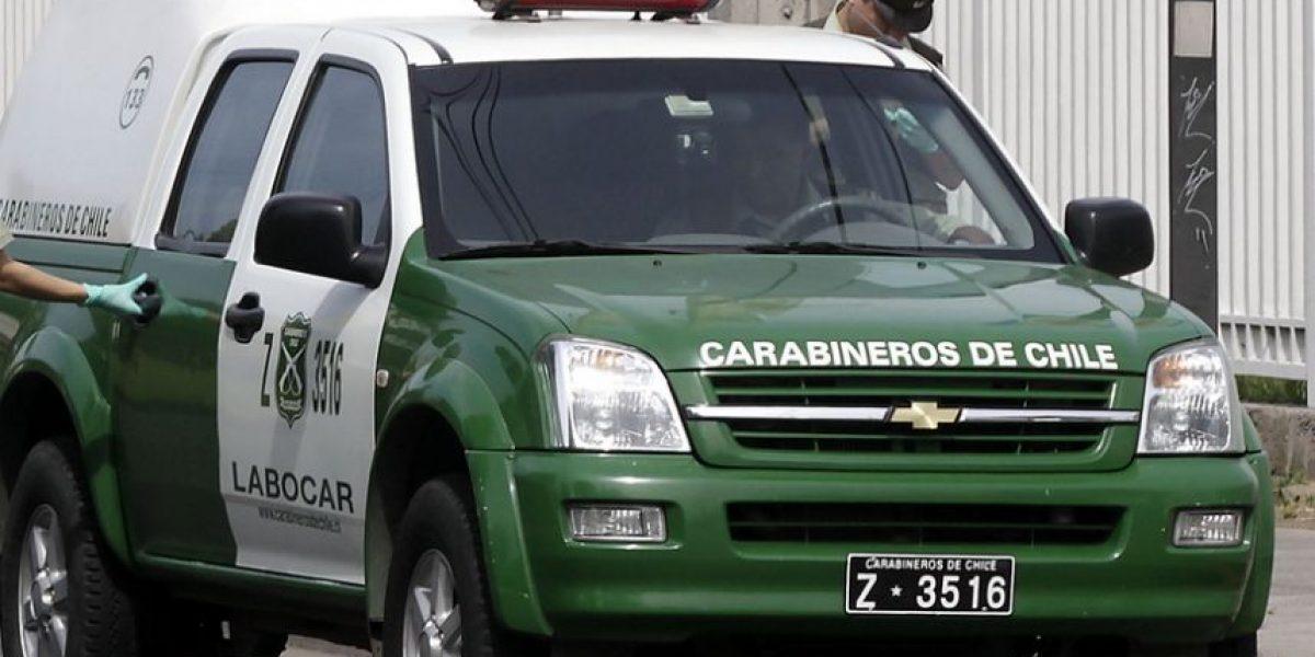 Carabineros frustra robo de vehículo en Vitacura