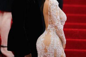 Y hasta lució este vestido semitransparente en el MET Gala. Foto:Getty Images. Imagen Por: