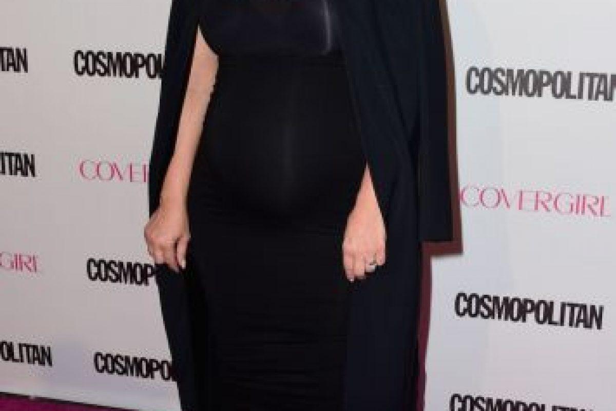 Incluso comenzó a vestir de negro para disimular su crecimiento. Foto:Getty Images. Imagen Por: