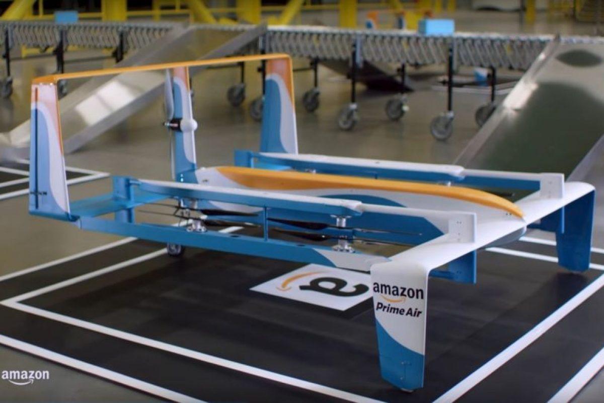 Amazon Prime Air hará que las entregas de productos sean rápidas. Foto:Amazon. Imagen Por: