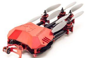 Steadidrone Flare. Este dispositivo se especializa en portar cámaras GoPro. Foto:vía webadictos.com. Imagen Por: