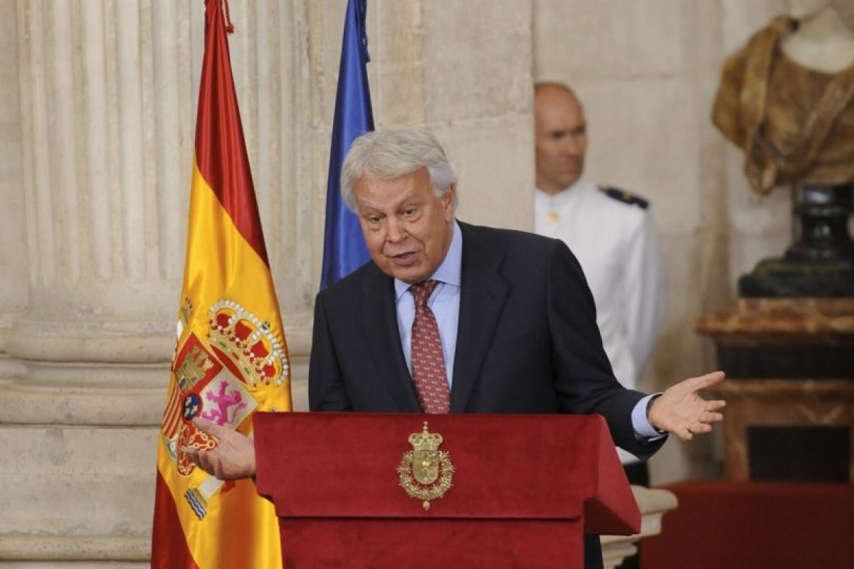 Felipe González, expresidente del gobierno español Foto:Getty Images. Imagen Por: