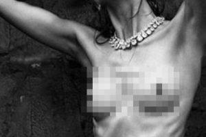 5. Karlie Kloss. Esta modelo fue retocada debido a su apariencia extremadamente flaca. Foto:Tumblr. Imagen Por: