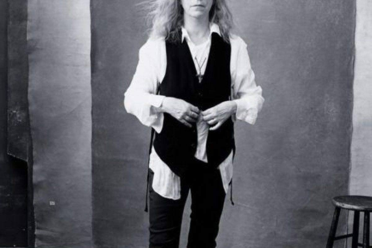 Patti Smith, ícono rock de los años 70. Foto:vía Pirelli. Imagen Por: