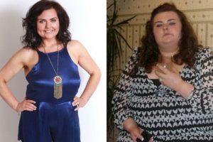 Poco después, Paige bajó de peso y abandonó a su novio. Miren el antes y después. Foto:Tumblr. Imagen Por: