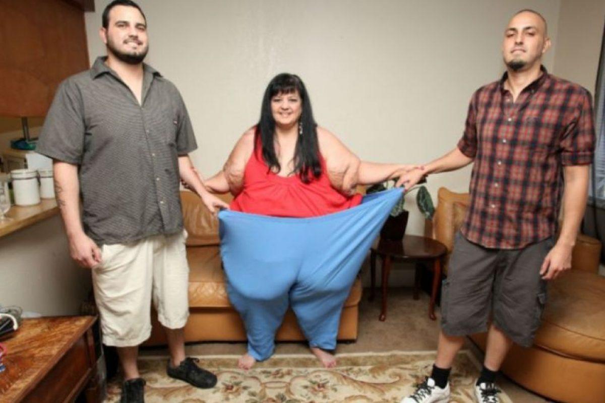 Miren todo el peso que ha perdido. Foto:Vía Barcroft Media. Imagen Por: