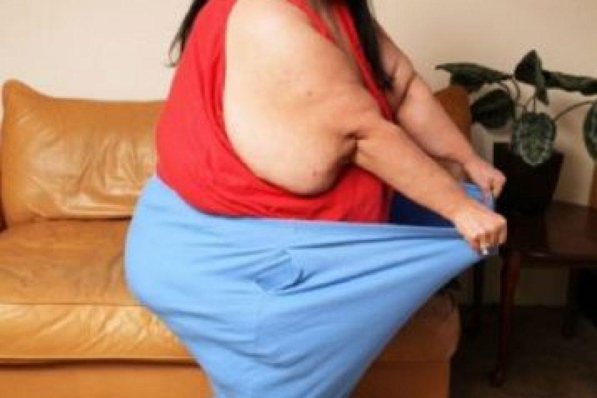 1. Patty Sánchez era engordada por su pareja, pues para él resultaba más atractiva. Foto:Vía Barcroft. Imagen Por: