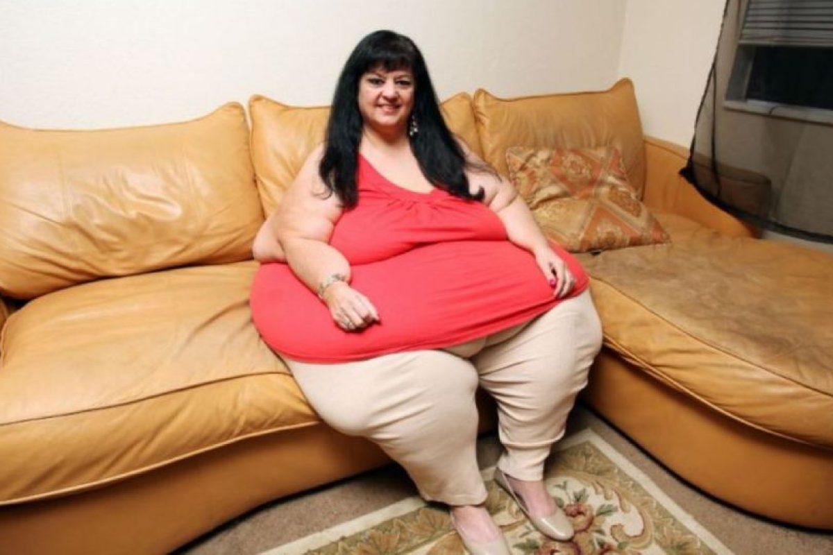De ese modo Patty llegó a estar enorme para complacer a su pareja. Foto:Vía Barcroft Media. Imagen Por: