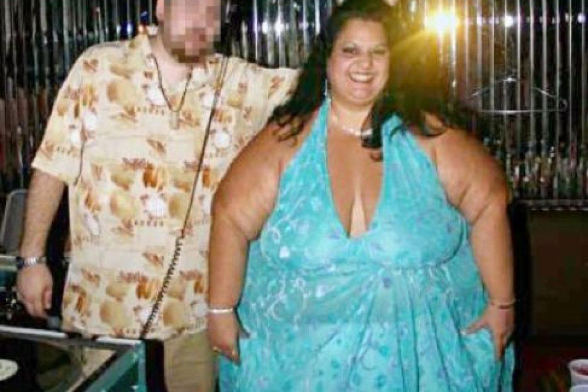 Aquí Patty con su ex. Foto:Vía Barcroft Media. Imagen Por:
