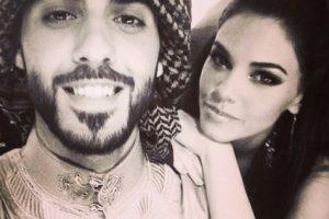 2. Aquí Omar posaba con la modelo y actriz cubana, Livia Brito. ¿Les parecía una mejor candidata? Foto:Vía Instagram/omarborkan. Imagen Por: