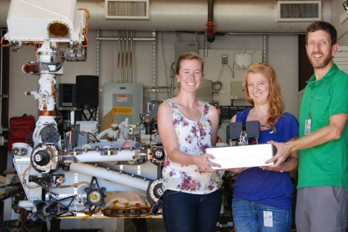La computadora fue creada en el Laboratorio de Propulsión Jet de la NASA en California. Foto:Vía Nasa.gov. Imagen Por: