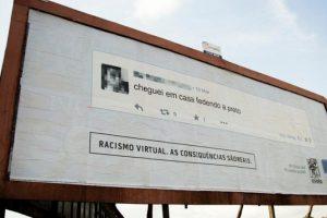 """""""Llegué a casa apestando a negro"""". Foto:racismovirtual.com.br/. Imagen Por:"""