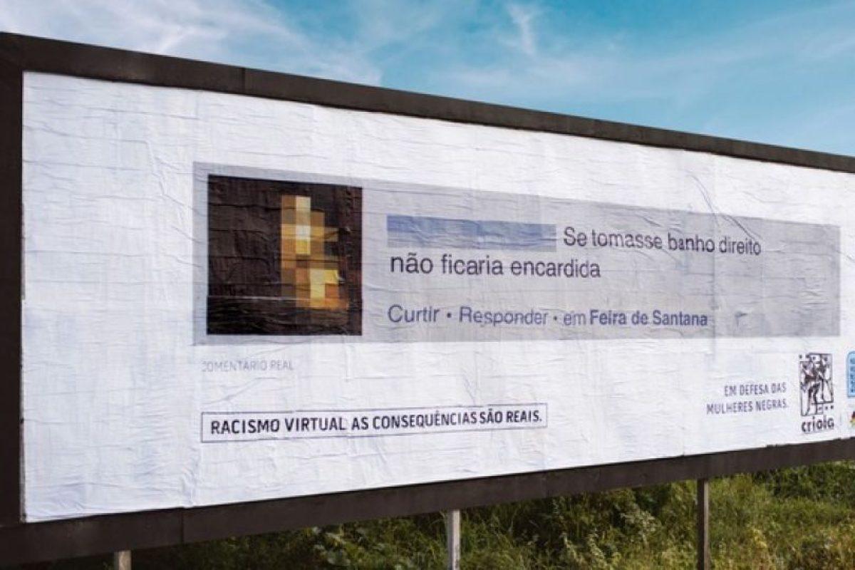 """""""Si se bañara correctamente, ella no sería tan mugrienta"""". Foto:racismovirtual.com.br/. Imagen Por:"""
