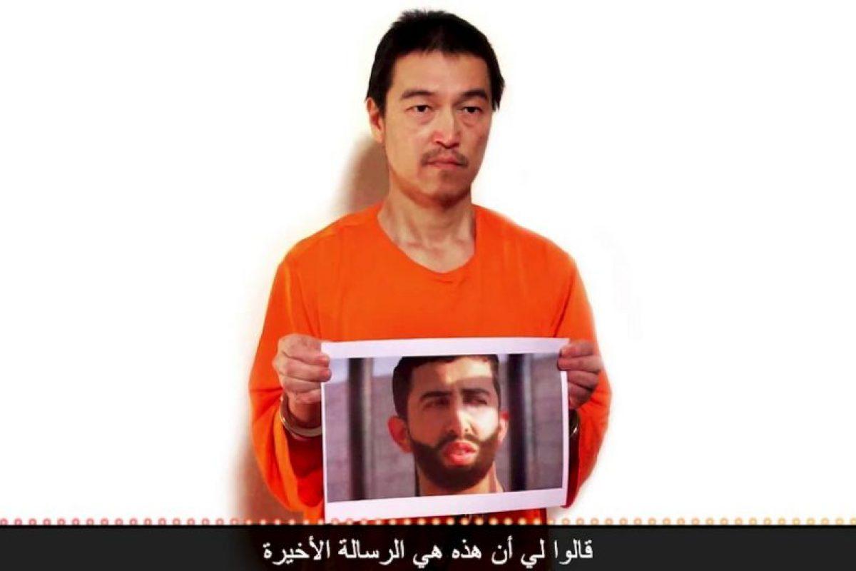 Kenji Goto, periodista japonés. Fue asesinado el sábado, 31 de enero luego de que fracasaran las negociaciones del EI y Jordania por intencambiarlo a él y al piloto jordano Moaz al-Kassasbeh por la prisionera Sajida al-Rishawi. Foto:AFP. Imagen Por: