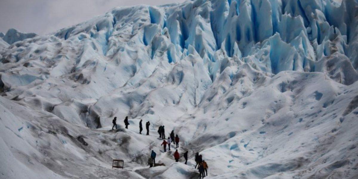 Las impactantes imágenes del retroceso de los glaciares