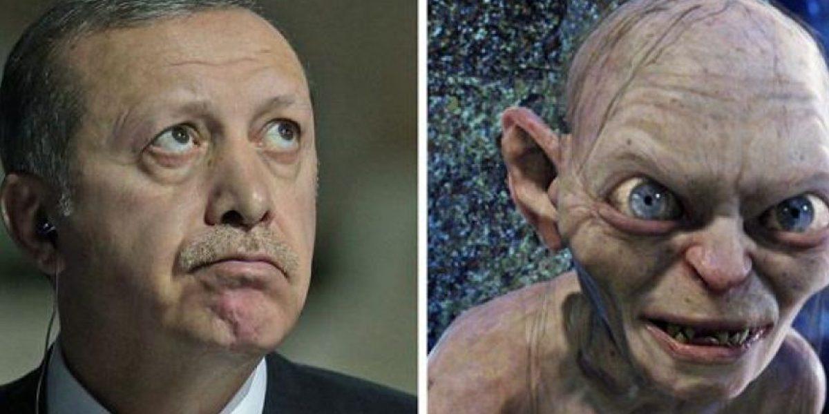 Insólito: la Justicia turca analiza si Erdogan se parece a Gollum, de El Señor de los Anillos