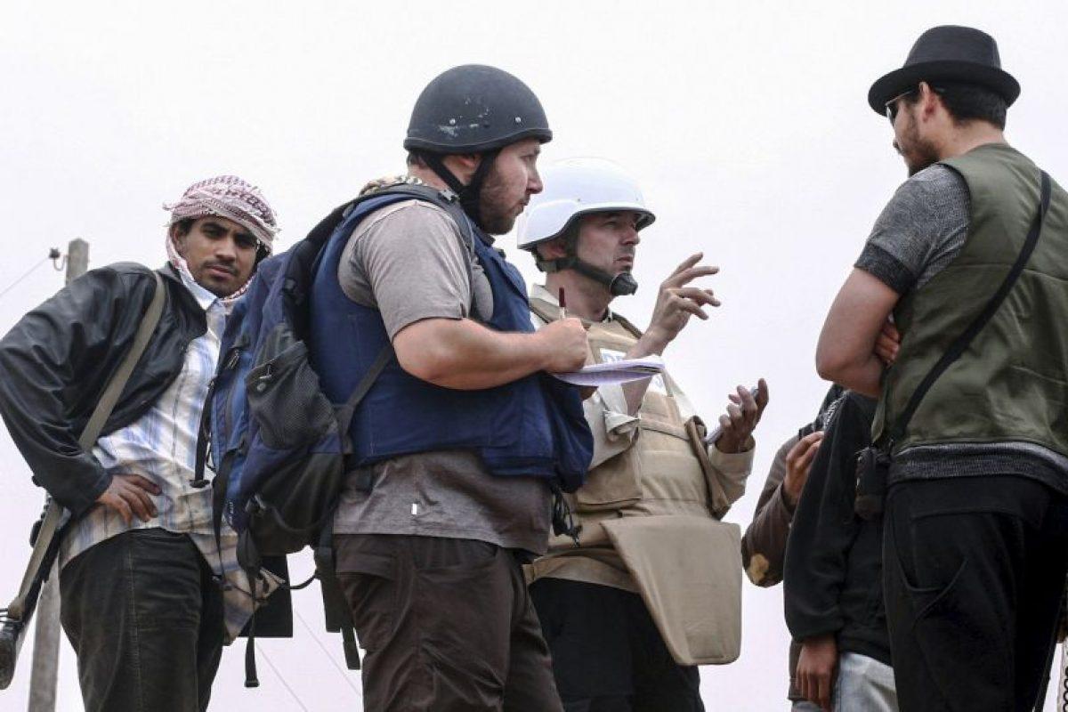Steven Sotloff, periodista estadounidense-israelí. Foto:Getty Images. Imagen Por: