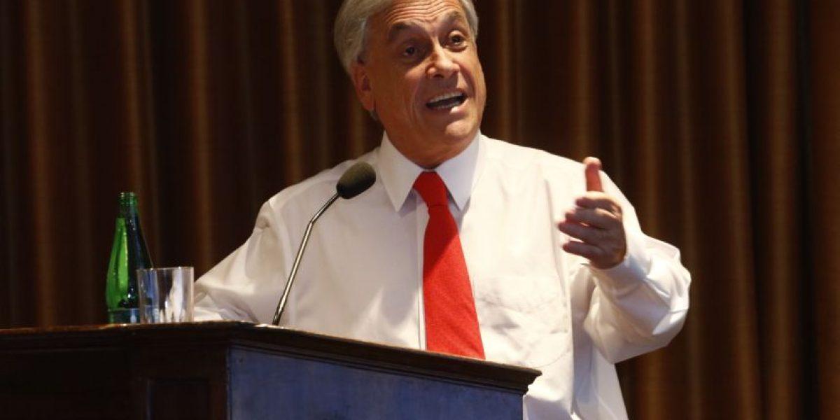 Sebastián Piñera y su crítica a las reformas: