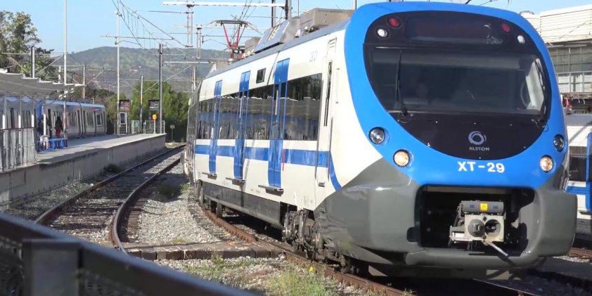 Estos son los tecnológicos nuevos trenes del Metro de Valparaíso