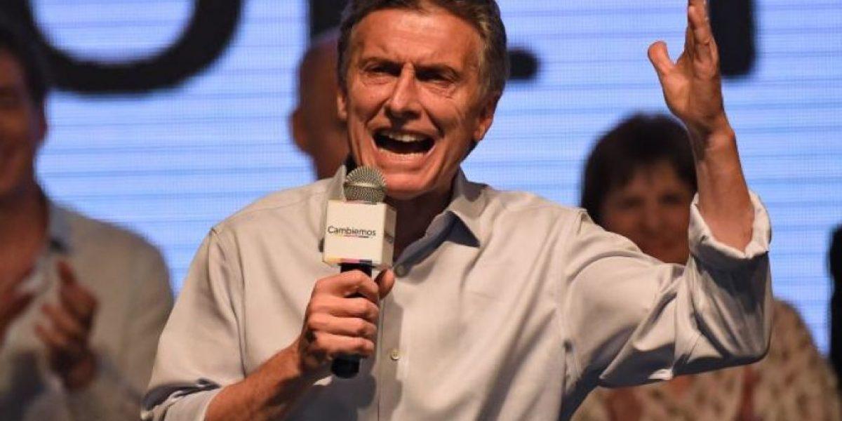 Macri anuncia visita a Chile antes de asumir presidencia en Argentina