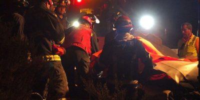 Accidente en Ruta Los Libertadores deja un muerto y dos lesionados