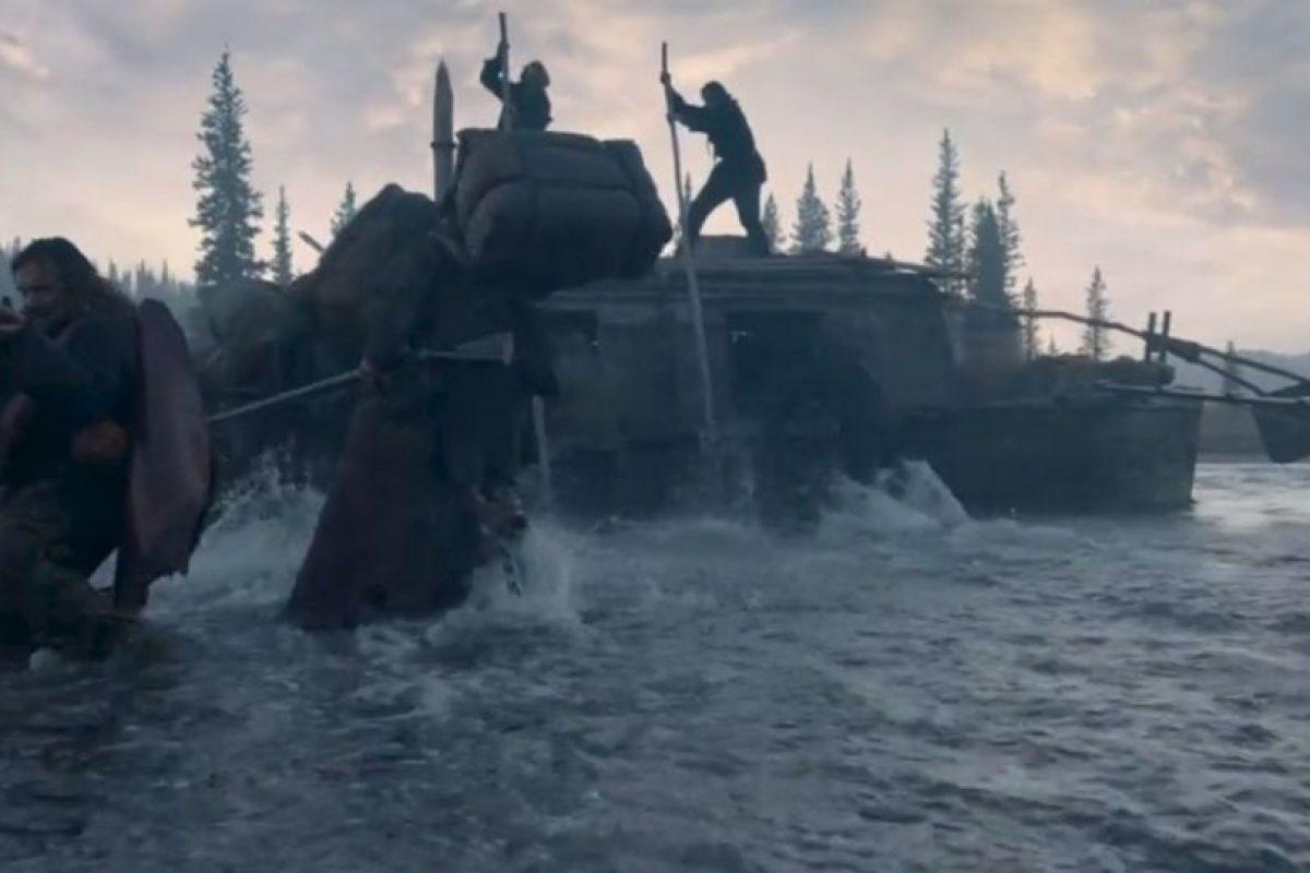 Uno de ellos fue cruzar ríos congelados. Foto:20th Century Fox. Imagen Por: