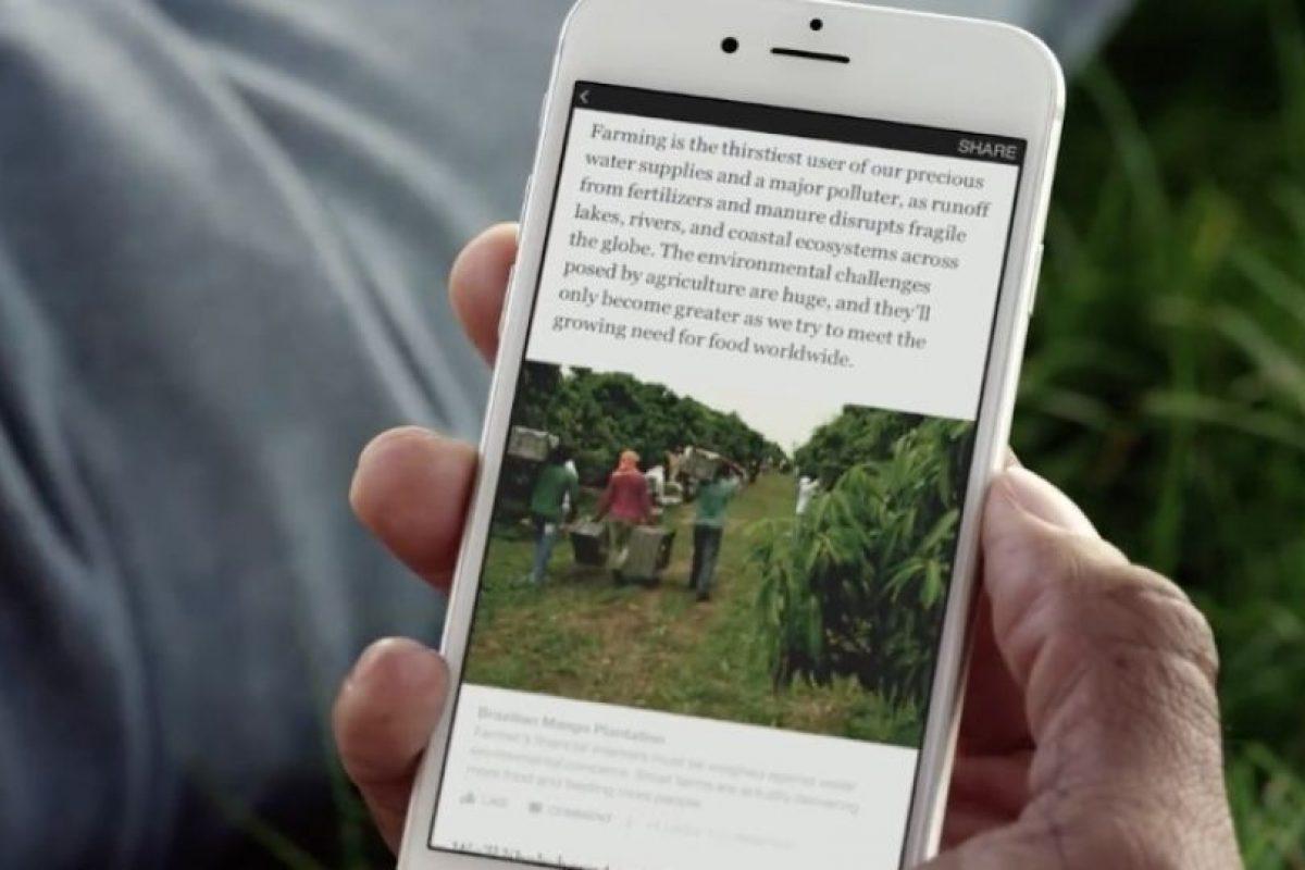 Conforme avanzan en la historia, de igual forma cargará videos automáticamente. Foto:Facebook. Imagen Por: