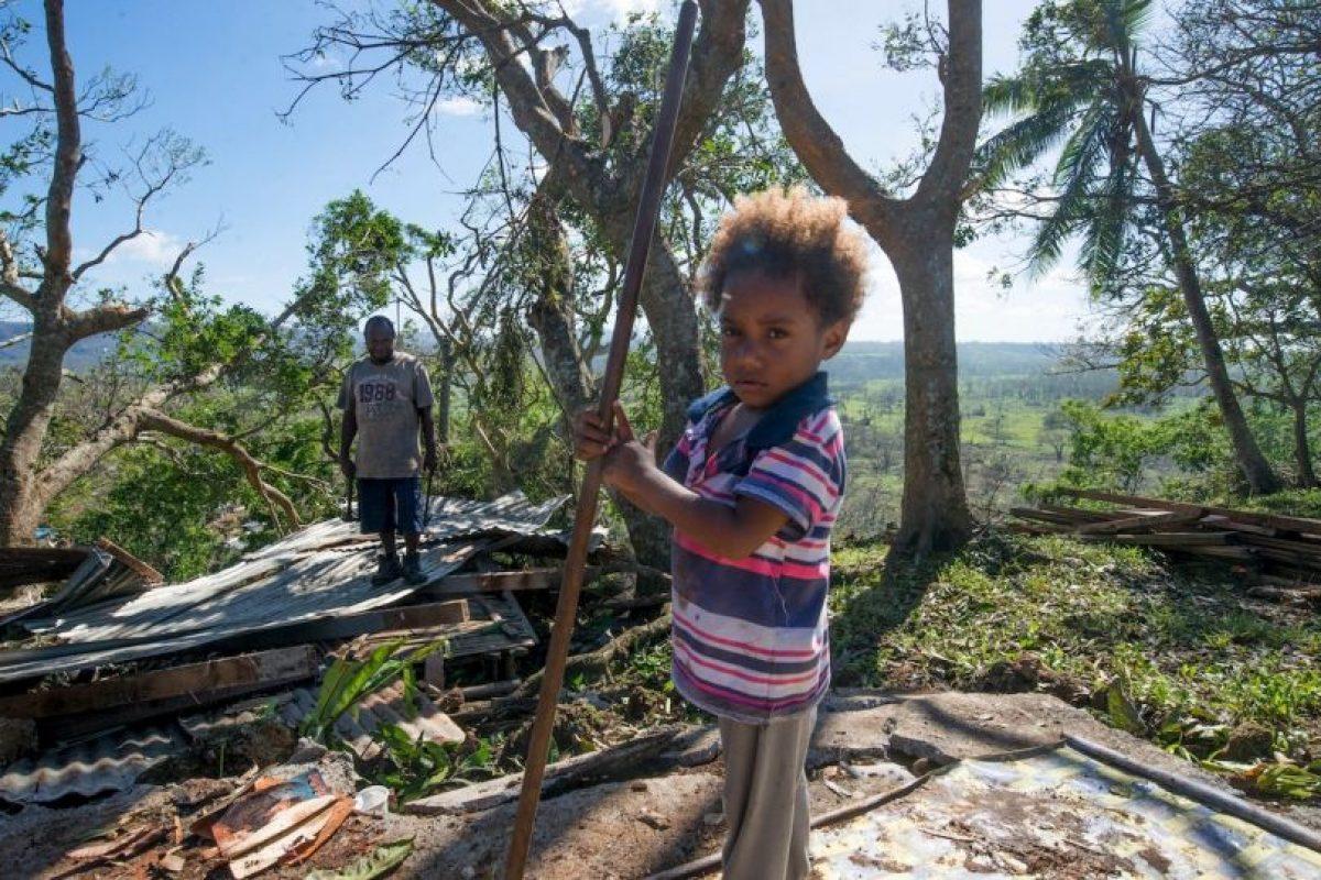 El 10 de marzo de este año, la isla padeció el peor ciclón del que tengan memoria Foto:Getty Images. Imagen Por: