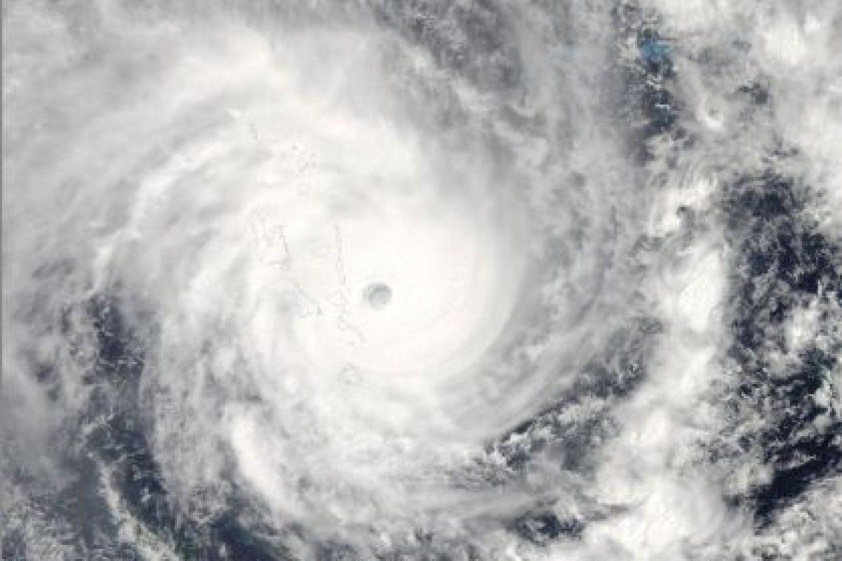 "Se trató de ""Pam"", una tormenta tropical que dejó cerca de 10 mil personas desplazadas Foto:Getty Images. Imagen Por:"