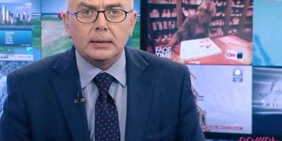 En un país donde el sida es considerado tabú: mira lo que hizo un presentador ruso