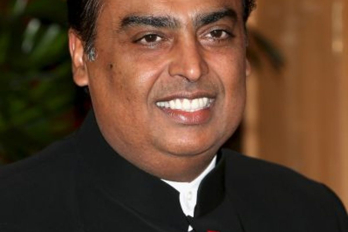 Mukesh Ambani, presidente de Reliance Industries Limited Foto: Getty Images. Imagen Por: