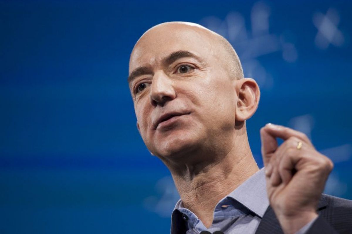 Jeff Bezos, CEO de Amazon Foto: Getty Images. Imagen Por: