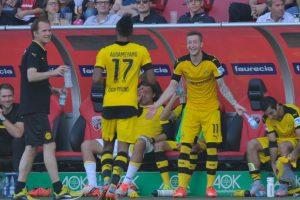En gran parte, el éxito del Borussia se debe a Reus y Aubameyang, los grandes amigos de la Bundesliga Foto:Getty Images. Imagen Por: