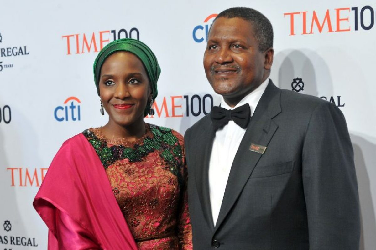 Aliko Dangote, CEO de Dangote Group Foto: Getty Images. Imagen Por: