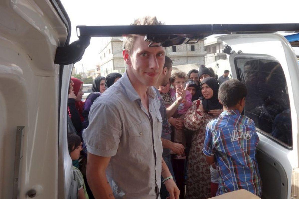 Peter Kassig, ayudante humanitario estadounidense. Foto:AP. Imagen Por:
