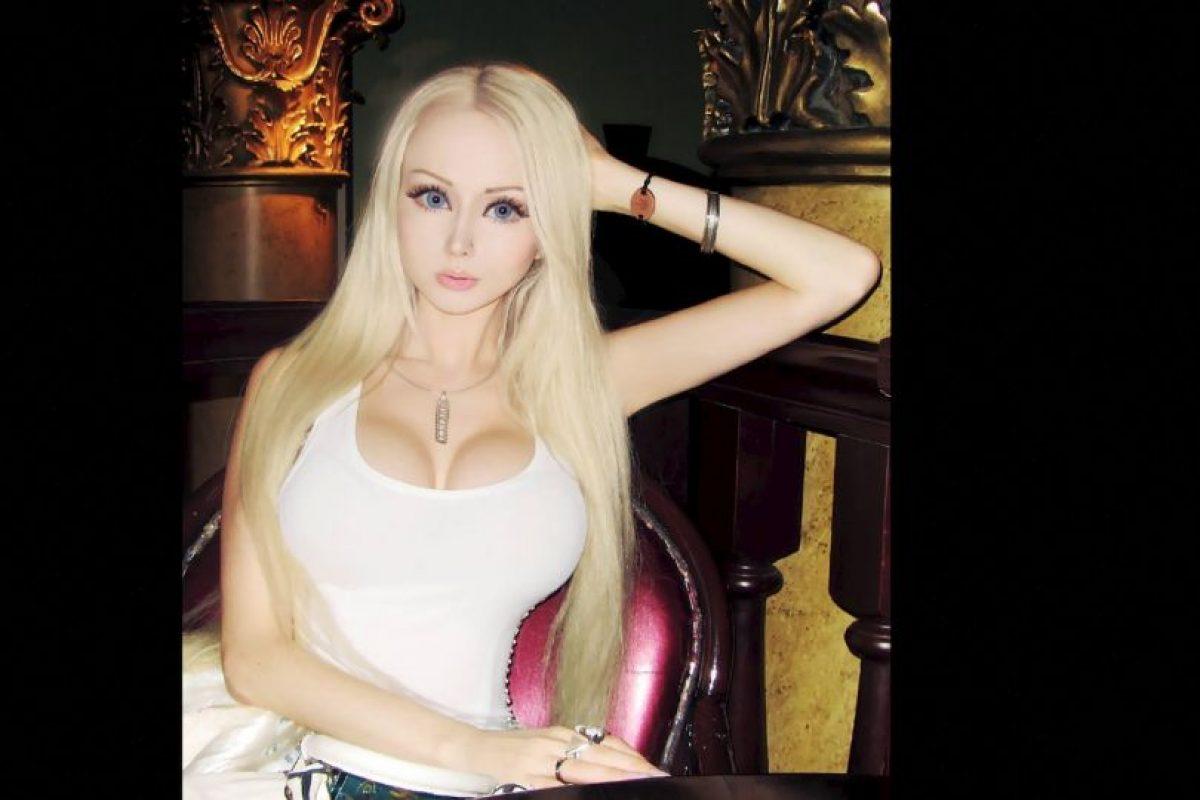 Ya de sobra es conocida Valeria Lukyanova. Foto:vía Facebook/Valeria Lyukanova. Imagen Por: