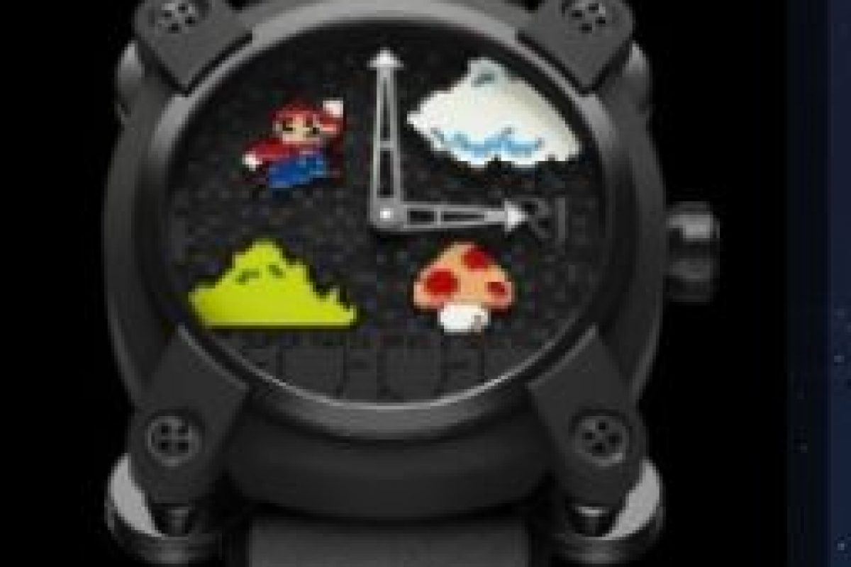 "Reloj Romain Jerome versión ""Súper Mario Bros."". Foto:romainjerome.ch. Imagen Por:"