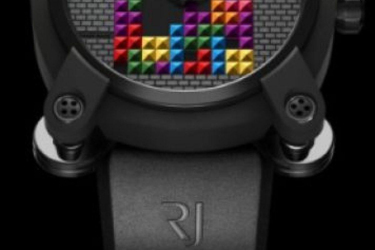 Versión Tetris DNA Foto:romainjerome.ch. Imagen Por: