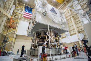 El sistema base de la nave Orión está siendo analizado para su buen funcionamiento. Foto:nasa.gov. Imagen Por: