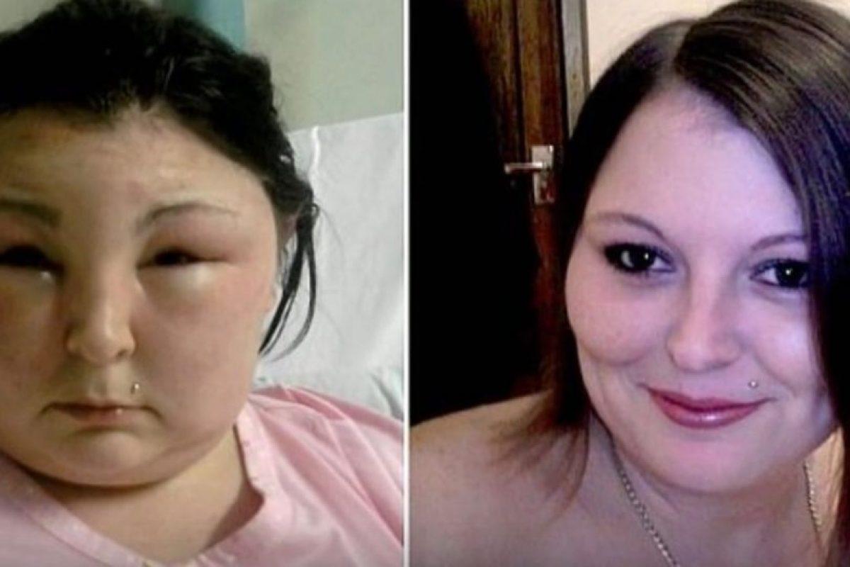 4. Carmen Rowe. Esta mujer de Reino Unido buscaba un cambio y se pintó el cabello. Foto:Tumblr. Imagen Por:
