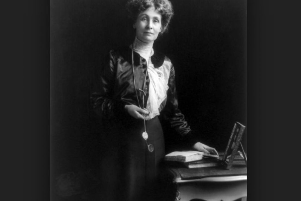 5. Emmeline Pankhurst (16 por ciento) Foto:Wikipedia.org. Imagen Por: