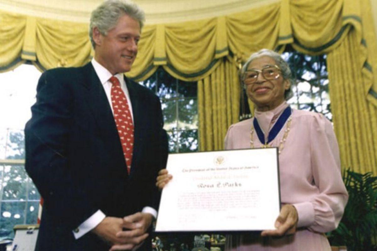 9. Rosa Parks (7 por ciento) Foto:Wikipedia.org. Imagen Por: