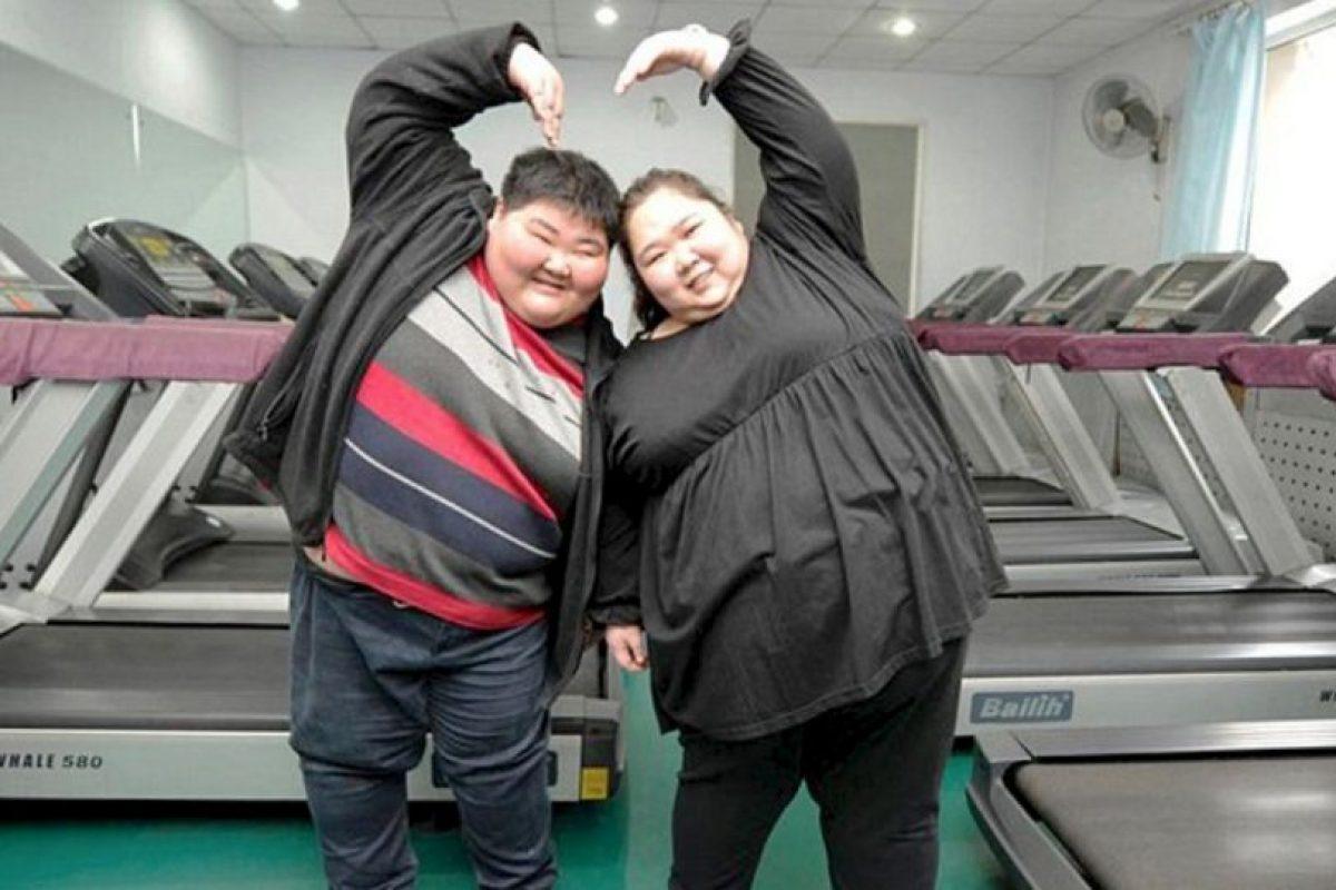 Lin Yue y Deng Yang Foto:Vía Picchina. Imagen Por: