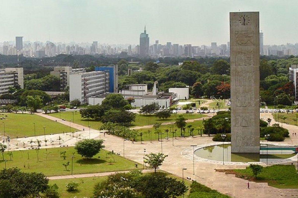 1. Universidad de Sao Paulo en Brasil Foto:Vía Facebook.com/usponline. Imagen Por: