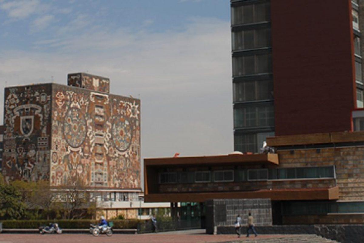 6. Universidad Nacional Autónoma de México Foto:Vía Facebook.com/UNAM. Imagen Por: