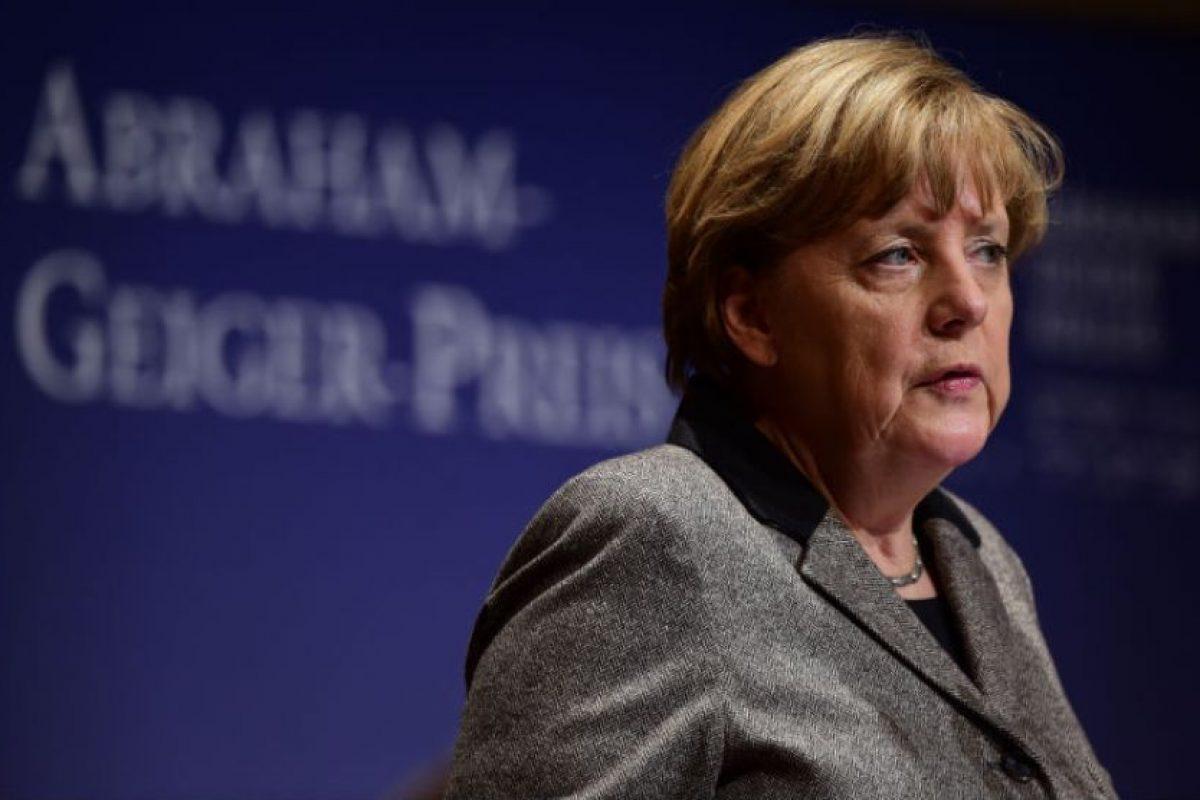 La canciller alemana, Angela Merkel ha elaborado planes para esta guerra, apoyada por los alemanes. Foto:AFP. Imagen Por: